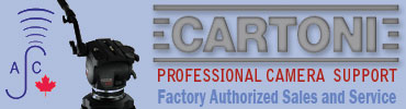 Cartoni Camera Support sales and service